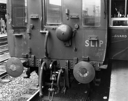 Back of locomotive.
