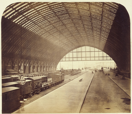 Construction of Midland Railway extension to London St Pancras, 1867-1868.