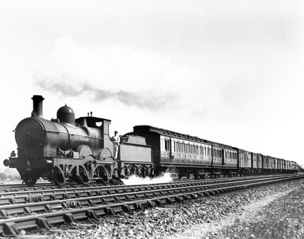 One of the last Great Western Railway (GWR) steam locomotives, 1 August 1926.
