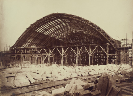 Construction of Midland Railway extension to London St Pancras, 1867-1868