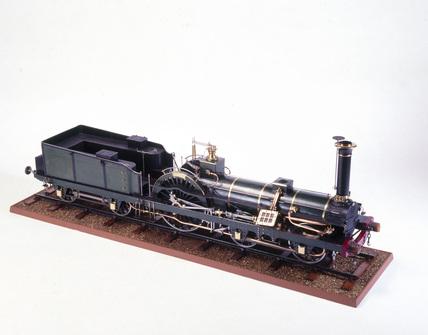 Crampton Locomotive, 1849.