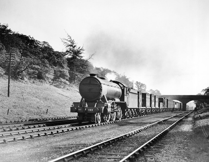 Class K3 steam locomotive, 2-6-0 engine No.153.