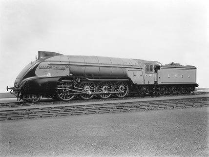 London & North Eastern Railway P2 class 2-8-2 steam locomotive No 2001. Cock O' the North