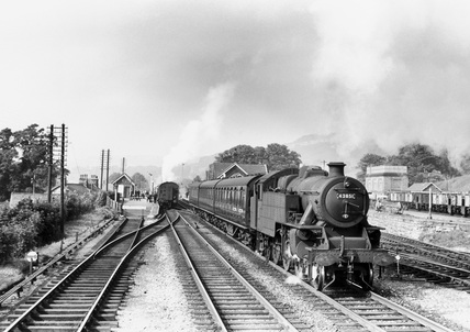 British Railways-built Fairburn 2-6-4, 1959.