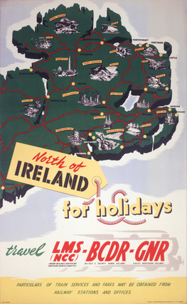 North of Ireland for Holidays, Poster