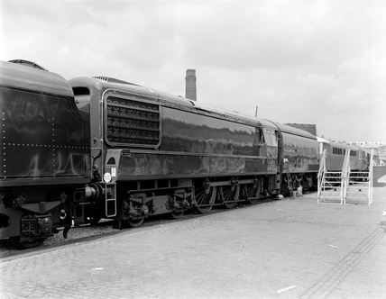 Marylebone 1961 Exhibition, GT3 Gas Turbine Locomotive.