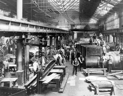 Gateshead Works, Tyne & Wear, c.1908.