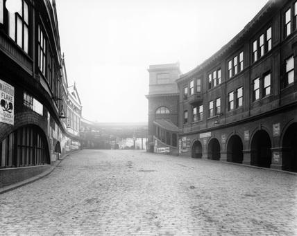 Waterloo Station, London, c 1900.