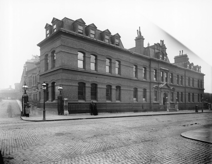 London & South Western Railway General Offices, c 1900.