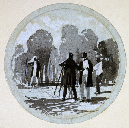 'Levelling', London & Birmingham Railway, c 1838.