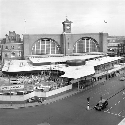 King's Cross station, 1973