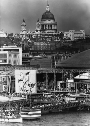 Festival of Britain, Nelson Pier to St. Paul's Cathedral, 1951