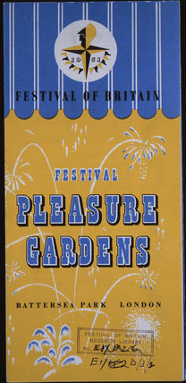 Festival of Britian, Pleasure Gardens, 1951