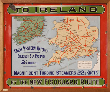 To Ireland by the New Fishguard Route