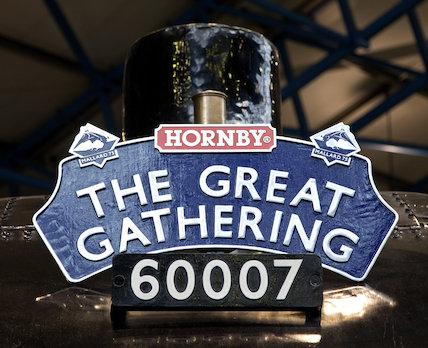 Sir Nigel Gresley 60007 Numberplate