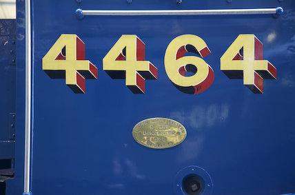 Bittern 4464 Cab Number