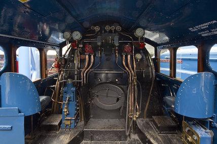 Mallard Cab Interior
