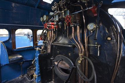 Mallard Cab Interior; Driver's Seat