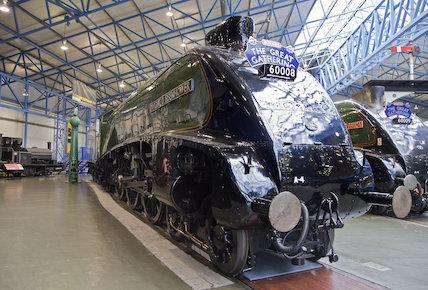 Dwight D Eisenhower Engine and Tender