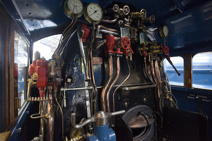 Mallard Cab; View From Driver's Seat