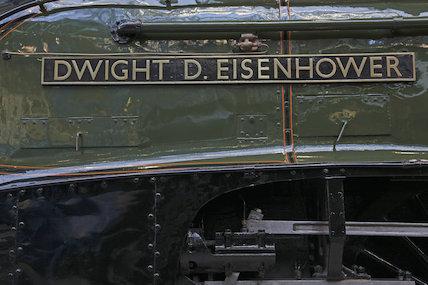 Dwight D Eisenhower Nameplate