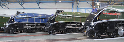 Sir Nigel Gresley, Dwight D Eisenhower and Union of South Africa