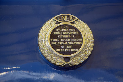Mallard Land Speed Record Plaque
