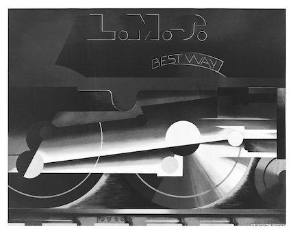 LMS, Best Way, railway poster, about 1928