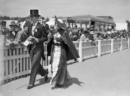 Fashions at the Royal Ascot Races, 16 June 1936.