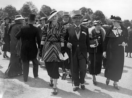 Fashions at the Royal Ascot Races, 16 June 1936.