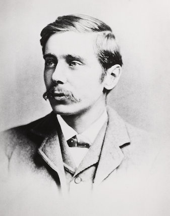 Herbert George Wells (1866-1946), c 1893.