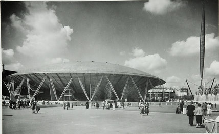 Dome of Discovery, Festival of Britain, 1951