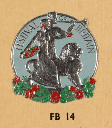 Colour logo for the Festival of Britain, 1951