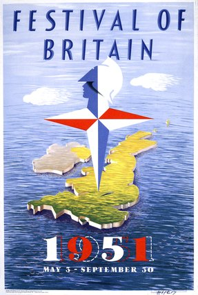 Festival Of Britain poster, 1951