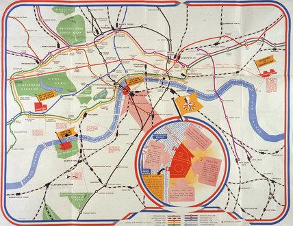 Transport organisation literature for London, 1948-1952