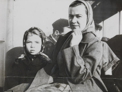 Survivors of British steamship sunk by a U-boat