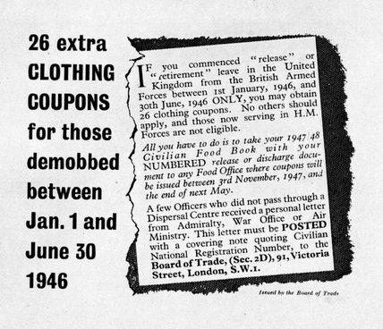 Extra Clothing Coupons