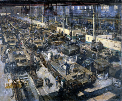 Tank Production in Britain During WW II