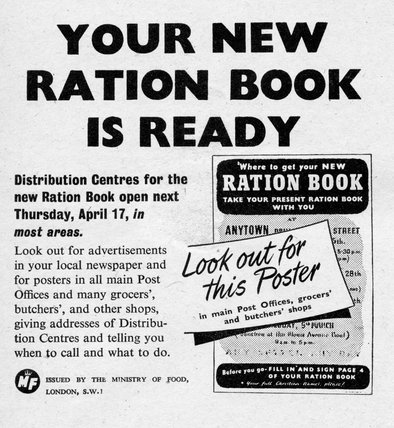 Your New Ration Book Is Ready