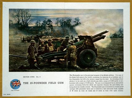 The 25-Pounder Field Gun