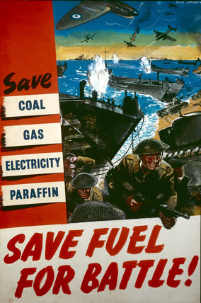 Save Coal, Gas, Electricity, Paraffin