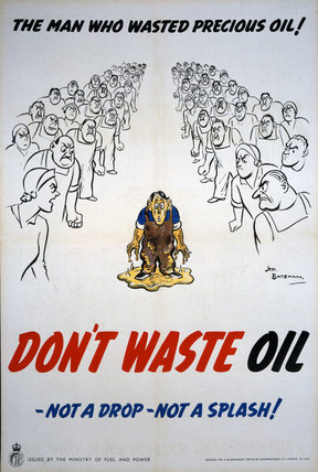 The Man Who Wasted Precious Oil