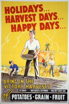 Holidays, Harvest Days, Happy Days