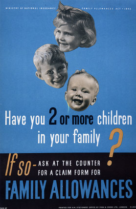 Family Allowances 1945