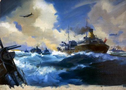 Naval Convoy WW II