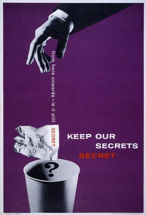 Keep Our Secrets Secret (Bin)
