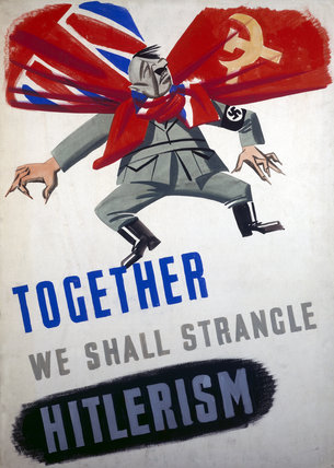 Together We Shall Strangle Hitlerism