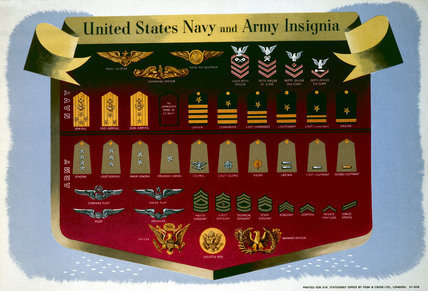 United States Navy and Army Insignia