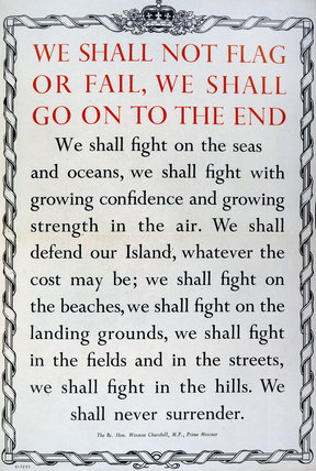 We Shall Not Flag