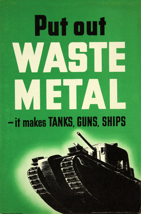 Put Out Waste Metal